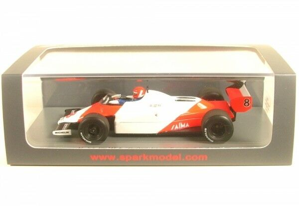 McLaren mp4 1c No. 8 2nd LONG BEACH GP FORMULA 1 1983 (Niki Lauda)