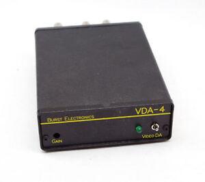 Burst Electronics VDA-4 Distribution Amplifier