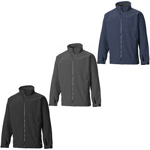 c96aff34fb91 Image is loading Dickies-Veste-Softshell-hommes -impermeable-leger-DURABLE-Manteau-