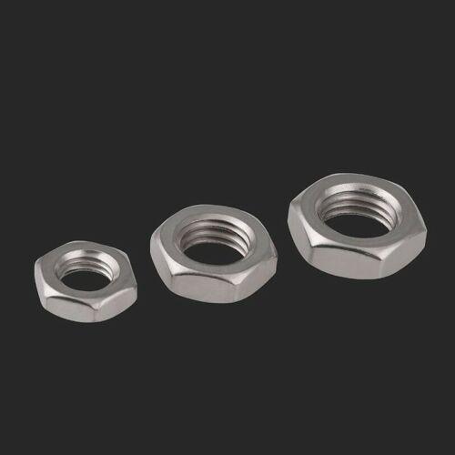 M3-M12M20 304//316 stainless steel hexagonal thin nut flat thin screw cap