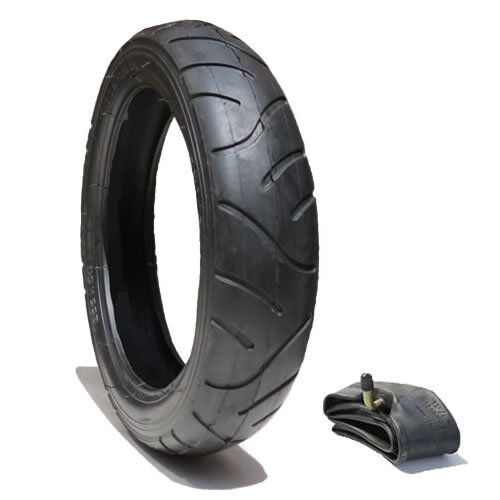 280 X 65-203  PUSHCHAIR TYRE AND TUBE - POSTED FREE 1ST CLASS