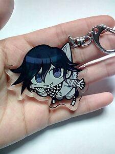 Danganronpa V3:Killing Harmony Kokichi Oma Cute Keychain Keyring Gift