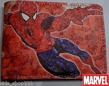 SPIDER MAN SPIDEY WEB ! bi fold wallet X-Men deadpool Marvel Comics Stan lee