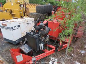 2007 Crafco EZ-1000 T/A Double Boiler Crack Sealer Tar Kettle -Parts/Repair
