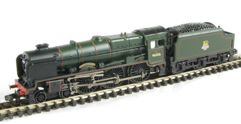 GFarish 372576 classe 6P Rebuilt Royal Scot 460 46106 Gordon Highleer.