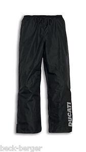 Details about Ducati Revit Strada Rain Pants Rain Suit Trousers Rain  Trousers Black New