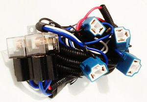 pontiac headlight relay wiring harness 4 head lamp systems fix dim image is loading pontiac headlight relay wiring harness 4 head lamp