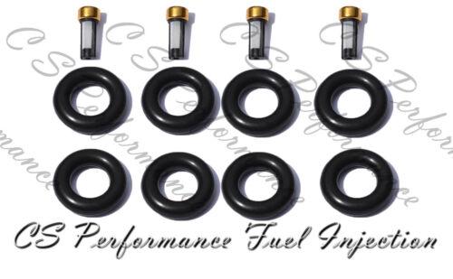 I4 1.9 Saturn Fuel Injector Service Repair Rebuild Kit Orings Filters CSKRP14