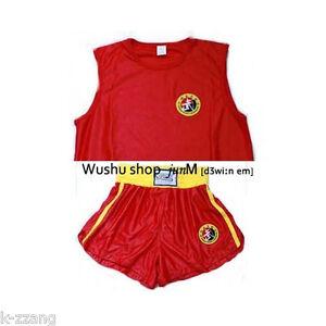 Jiu-Ri-Shan-Wushu-Sanda-trunk-Kung-Fu-uniforms-Uniform-Kungfu-Fight-Chinese-RED