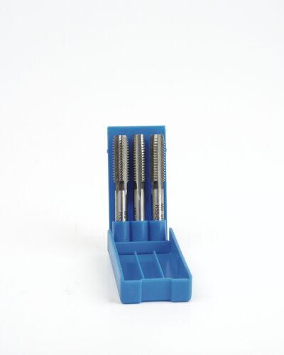 Mannesmann Metric HSS Tap Set 3pcs M5 x 0.8mm  Taper Second Plug  DIN TUV