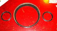 MINI Austin/Morris glass to bezel instrument seals; centre plinth type.
