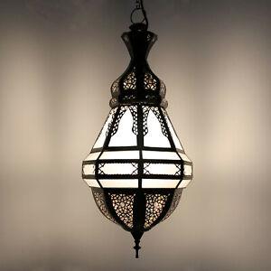 Oriental Lámpara Colgante Cristal Lámpara de Techo Poisson Vaso de Leche