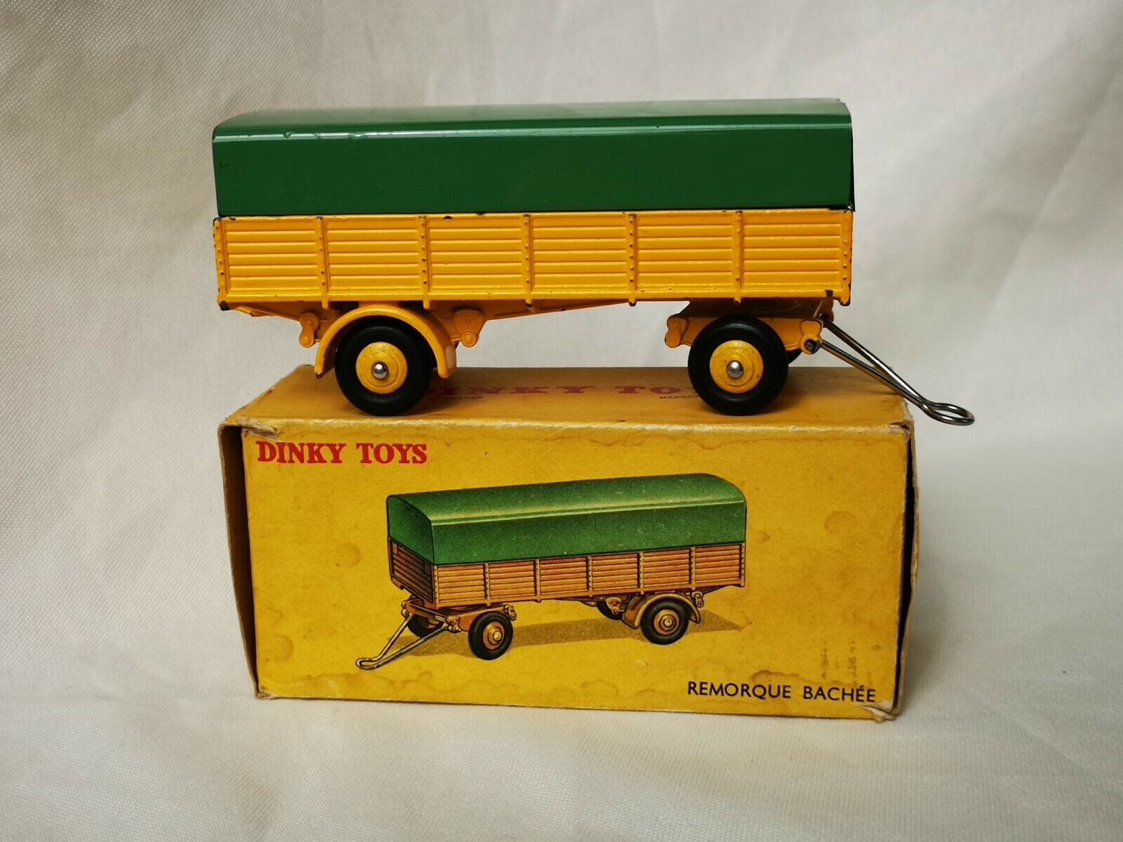 Dinky TOYS No. 70 Trailer Covered Trailer REMORQUE bachée Boxed