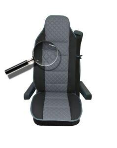 Sitzauflage LKW-Sitz Sitzkissen grau für Renault T440 T380 K380 C380 C250
