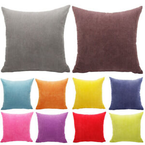 Awesome Details About Soft Large Pillow Case Corduroy Cushion Cover Office Sofa Bed Car Home Decor Gmtry Best Dining Table And Chair Ideas Images Gmtryco
