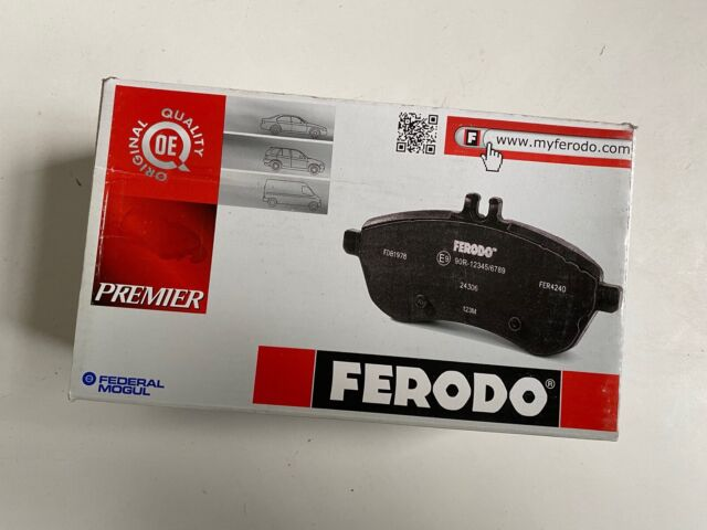 1AB8 Kit pastiglie freno Brembo Post PEUGEOT RANCH Furgonato Diesel 1996/>P