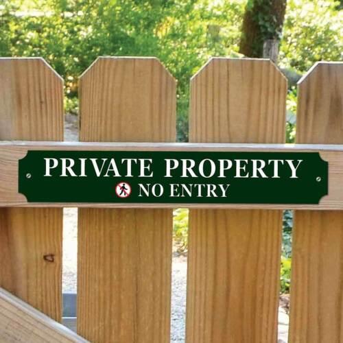 Propriété privée Signe Classique Robuste Porte Signe pas d/'entrée SIGNE privé signe
