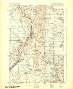 19151932 Cuyuna Minnesota Usgs Topographic Map Ebay