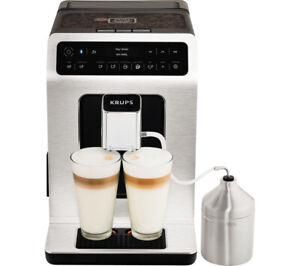Krups EA893D40 Bean to Cup Coffee Machine Smart Evidence Connected 2.3L Metal