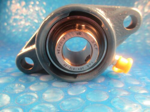 SKF FYT 3//4-TF Insert=YAR 204-012 2F,Cast Iron 2-Bolt Ball Bearing Flange Unit
