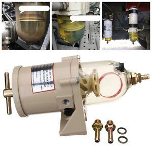 Diesel-Truck-Marine-Boat-Fuel-Filter-Water-Separator-Kit-500FG-500FH-Universal