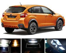Xenon White Vanity / Sun visor LED light Bulbs for Subaru XV Crosstrek (4 Pcs)
