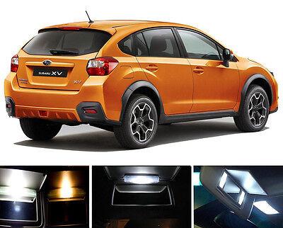 4 Pcs Sun visor  LED light Bulbs for Subaru BRZ Xenon White Vanity