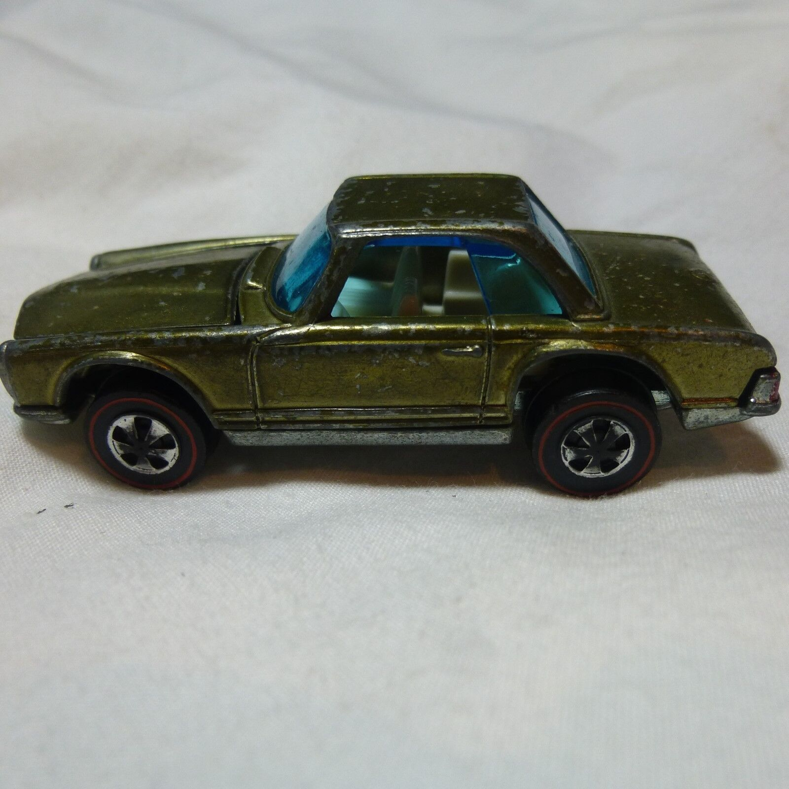 Vintage Hot Wheels 1968 Mercedes Benz 280SL Redline USA G Condition