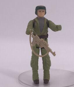 Vintage 1983 Kenner Star Wars Figures Complete Rare ROTJ REBEL COMMANDO Gun Toy