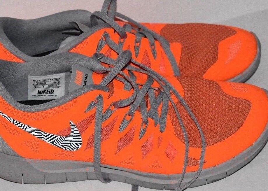 Nike gli uomini liberi, orange sz 9 [653713-992]