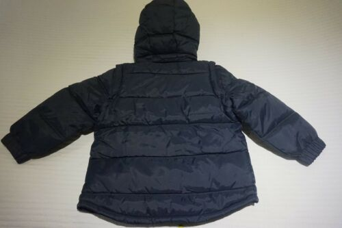 NAVY AGES 3 4 5 6 YEARS MUDDY PUDDLES PUFFA JACKET GILET