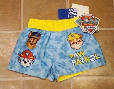 paw Patrol Infant Swim Trunks Size 0-3 Months