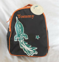 Pottery Barn Kids Rocket My First Backpack Brown tommy With Tag Pre-k