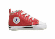 93407ab11a2bd Converse New Borns Cribs Infant Babies Baby First Star Shoes Booties Boys  Girls