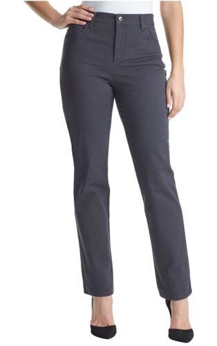 Gloria Vanderbilt Women/'s Amanda Heritage Fit Tapered Leg Grey Twilight
