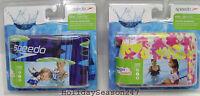 Speedo Kids Printed Armbands Age 2-12 Pool Floatation Device Water Training Swim
