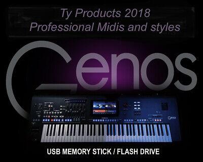 100 Great Xmas Styles für Yamaha Genos Download oder USB-Stick