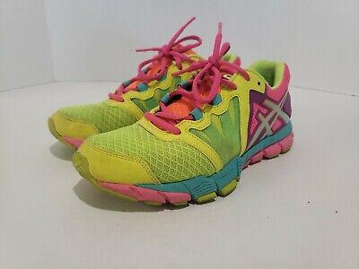 Ladies ASICS Neon Running Shoes Women