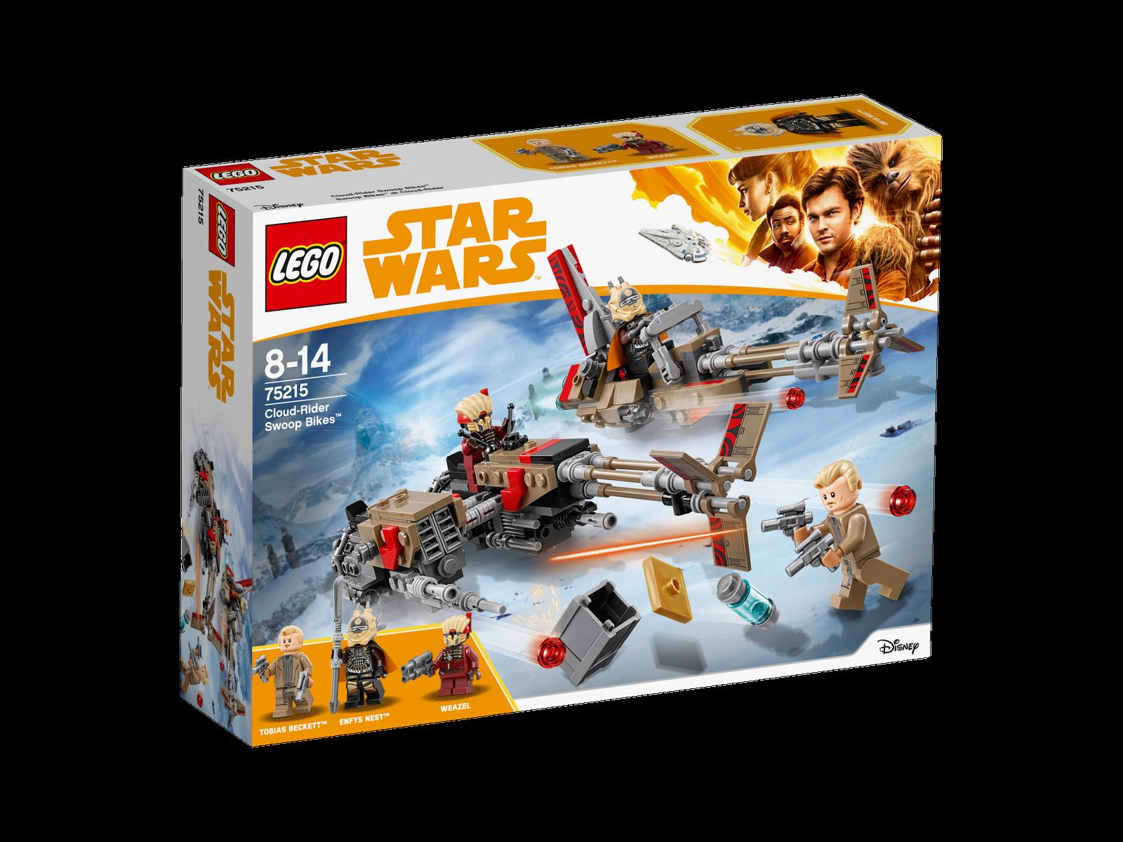 LEGO ® estrella guerras ™ 75215 Cloud-Rider  Swoop BIKES ™ NUOVO OVP nuovo MISB NRFB  garantito