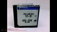 Rockford 4253-033b - Pack Of 50 - Hex Jam Nut, Inside Diameter: 1/2in,,