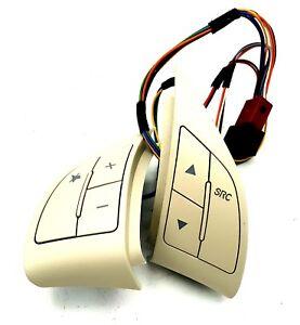 6 Button 71752117 Genuine Brand New Grande Punto Abarth Steering Wheel Buttons