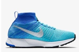 e5ee28afd3484 NIKE ZM PEGASUS ALL OUT FLYKNIT RUNNING SHOES 859622 400 GIRLS 6Y ...