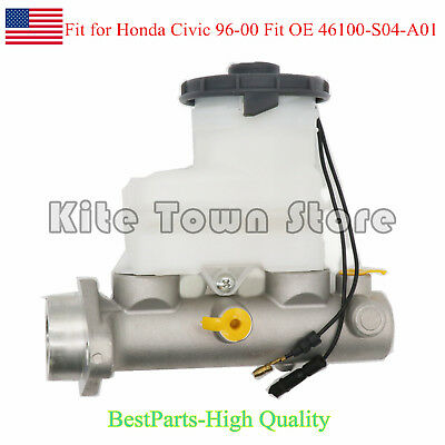 Brand New Brake Master Cylinder For 96-00 Honda Civic 1.6L 46100-S04-A01