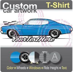 Custom T Shirt 71 1971 Chevy Chevrolet Chevelle SS 350 396 454