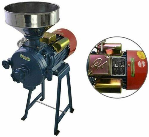 Electric Mill Grinder Machine Flour Corn Grain Coffee Wheat Feed 220V  Funnel