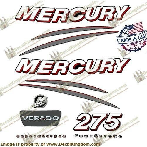 Mercury  do Outboard Engine Decals (Multiple  HP) 3M Marine Grade  cheap and fashion