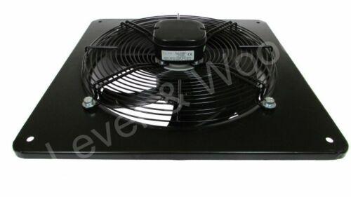 450mm//18in Extractor Industrial Ventilation Fan Plate Mount Axial 3ph 4p Sucker