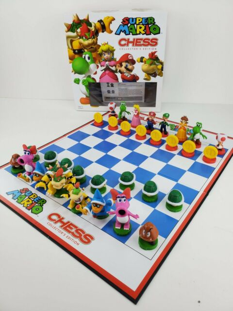 Super Mario Brothers Chess Collector's Edition w/ Manual *Complete*