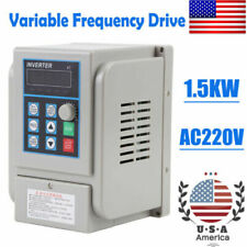 2hp 15kw Vfd Single 3 Phase Speed Variable Frequency Drive Inverter Industry 8a