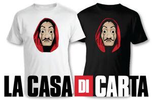 T SHIRT LA CASA DI CARTA